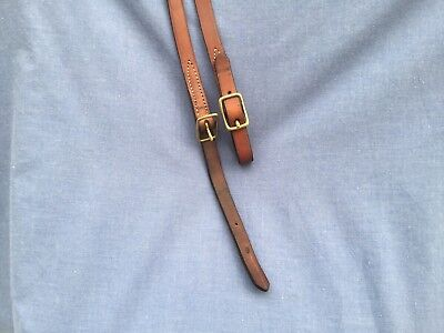 Driving Reins Leather English