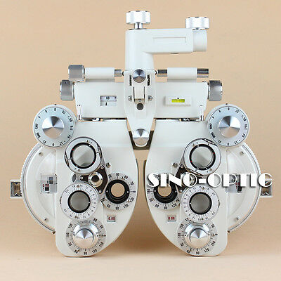 SVT1 Manual Phoropter Ophthalmic View Tester Optical Vision Tester White Color