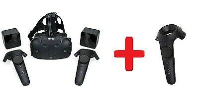 HTC Vive (all parts/lighthouses/controllers) PLUS extra third controller