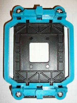 Soporte Azul Disipador Ventilador CPU Socket AMD AM2 AM3 FM1 FM2 Placa Base