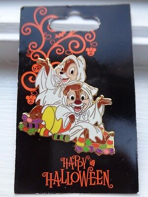Disney Halloween Pin - Chip and Dale - Halloween 2010