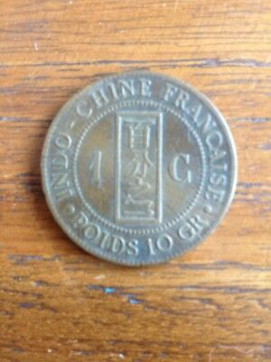 1 Centime Indochine Francaise 1887A