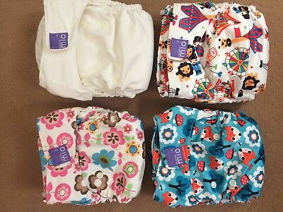 Bambino Miosolo Washable Nappies NEVER BEEN USED
