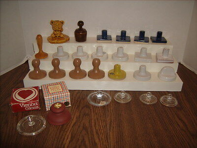 26 COOKIE PRESS Stamps Biscuit Press Lot Vintage