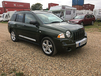 2009 JEEP COMPASS LIMITED 4x4 4WD GREEN cat d DIESEL SALVAGE DAMAGED REPAIR