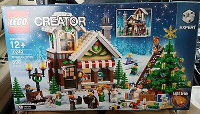 lego winter toy shop instructions