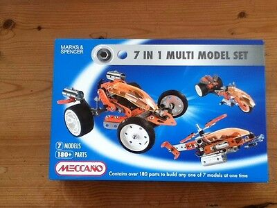 Meccano 7 in 1 multi model set - NEW