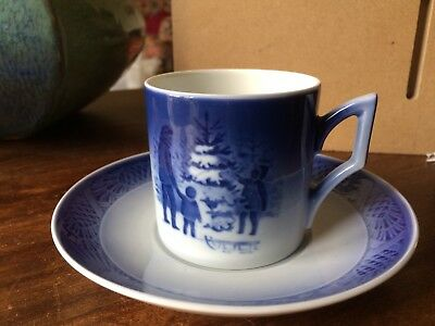 Royal  Copenhagen Christmas 1979 Coffee Cup And Saucer