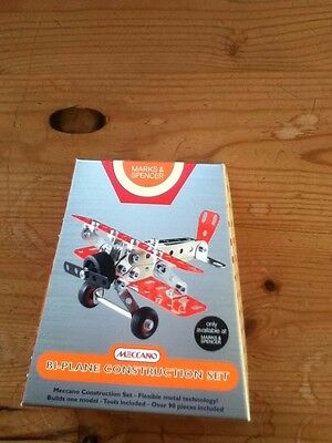 M&S MECCANO BI-PLANE CONSTRUCTION SET - Brand New