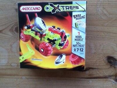 Meccano Xtreme - Model 1820 - Car/Buggy - New