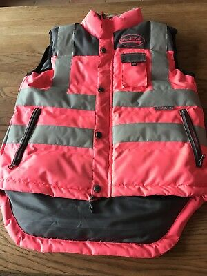 Rockfish Medium Ladies Hi Vis Pink Body warmer