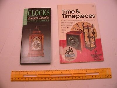 Book 58 – Lot of 2 watch and clock books