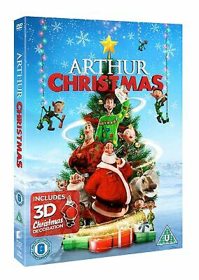 Arthur Christmas (With Christmas Decoration) [DVD]