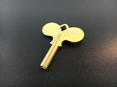 Ships Bell Clock Key Size 5 or 3.4 mm /.134 inches made of Brass
