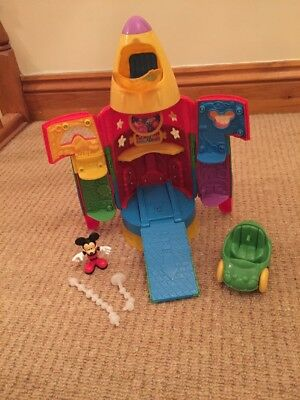 Mickey Mouse Clubhouse Rocket With Lights And Sounds