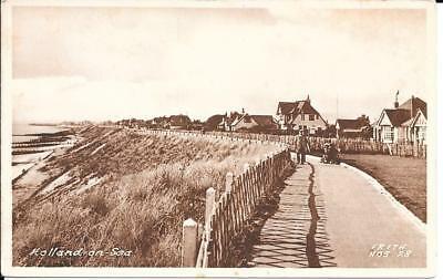 Holland on Sea Showing Promenade and Cliffs