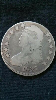 1827 Capped Bust Half Dollar, Square 2