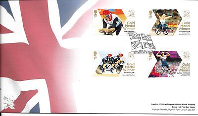 2012 Paralympics First Day Cover
