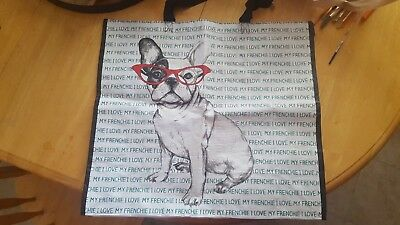 NWT French Bulldog Tote