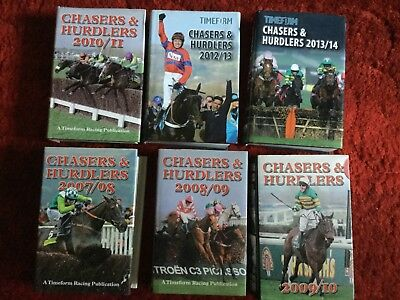 Timeform Chasers and Hurdlers  superb Collection 1977-2011  +12/13 and 13/14