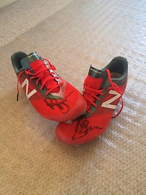 Boots Signed - Last game, GF 2017