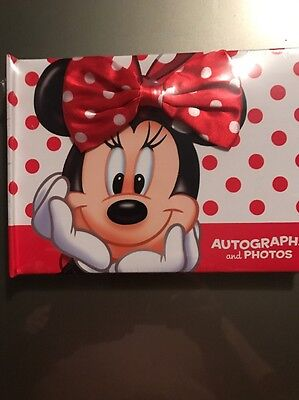 Disney Autograph and Photo Book NEW - Minnie Mouse - Free Shipping