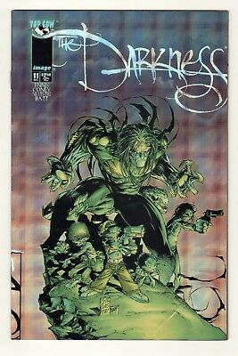 Top Cow The Darkness Vol.1 #11 Silvestri HOLOPLAID VARIANT Edition