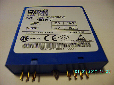 ANALOG DEVICES AD5B41 Signal Conditioning Module