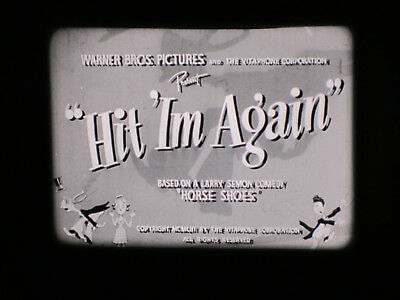 Hit Im Again. 16Mm Film. Larry Semon. Great Vintage Comedy. 1X400Ft. B/w Sound.