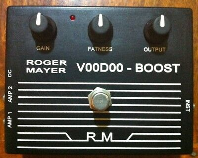 Roger Mayer Voodoo Boost in a slightly used condition