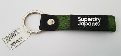 Genuine Superdry Green Key Ring Brand New And Unused