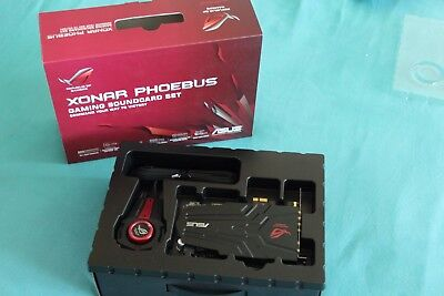 ASUS ROG Xonar Phoebus, High-End Gaming Soundkarte. Inkl. Controller in OVP