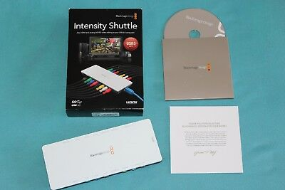 Blackmagic Intensity Shuttle HDMI and analog HD/SD video Editing with USB 3.0