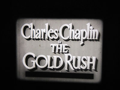 16Mm Feature Film. The Gold Rush. Chaplin Classic. B/w Sound.