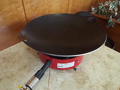 WOK - Strifry Pan Wok Large 55 cm With burner CATERING
