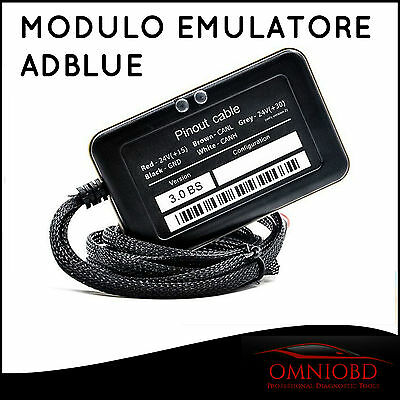 Modulo Emulatore Adblue 8In1 Daf Man Scania Iveco Volvo Renault Mb Programmabile