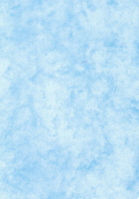 200 gsm double sided 50 sheets A4 SIGEL DP551 Marbled Writing Paper blue