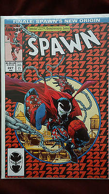 """spawn #227 """"spiderman 300 homage cover"""" HIGH GRADE COPY"""