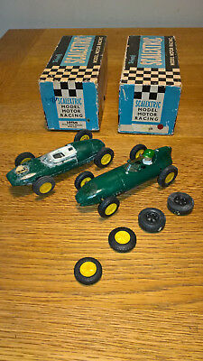 scalextric Lotus MM C54 and Lotus 1961 MM C63. 1960s 1970s