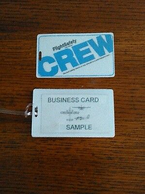 New Flightsafety Crew Baggage Tag