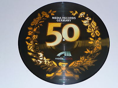 "Picture Vinyl "" Media Records Germany 50 "" Neu"
