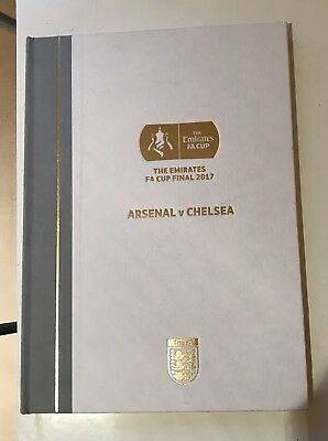 Chelsea V Arsenal  (27/05/2017) 2017 Fa Cup Final Match Programme- Very Rare