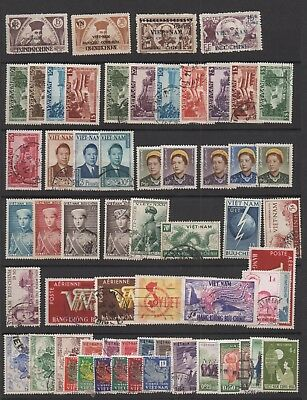 Viet Nam 1945-1956 Viet Minh /empire/ Sud 61 Timbres N/o Early Viet-Nam  !!!!