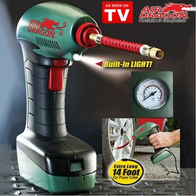 Air Dragon As Seen on TV Portable Air Compressor New sealed