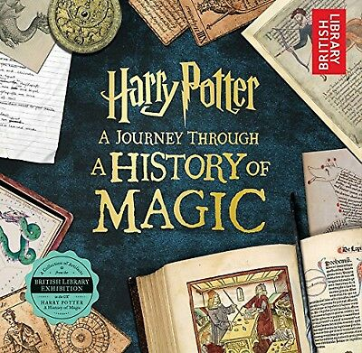 Harry Potter: A Journey Through a History of Magic.by British Library.FREE SHIPP