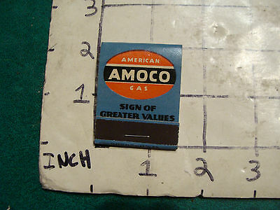 vintage Matches 1930's or 40's:  AMOCO sign of greater value, Ascutney Vt UNUSED
