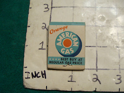 vintage Matches 1930's or 40's:  AMOCO the original, one match used