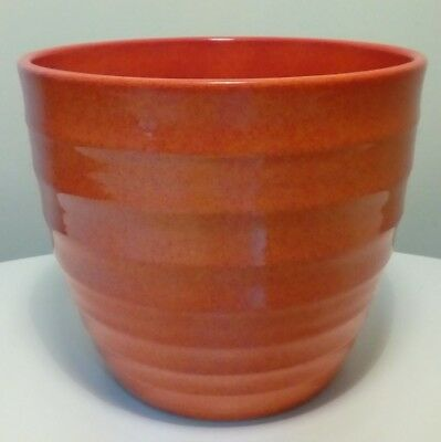 West German ORANGE Plant Pot ~ scheurich