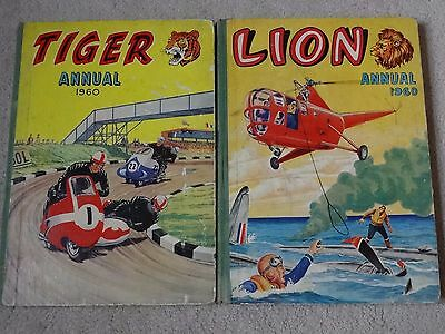Tiger & Lion Annual 1960 Not Price Clipped