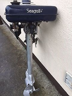 British Seagull 2.5 hp series 40 outboard engine